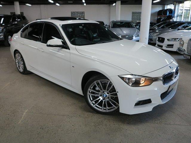 Used BMW 3 Series F30 MY1114 320i M Sport Albion, 2014 BMW 3 Series F30 MY1114 320i M Sport White 8 Speed Sports Automatic Sedan