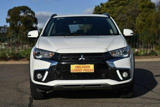 2018 Mitsubishi ASX XC MY19 ES 2WD ADAS White 1 Speed Constant Variable Wagon.