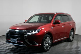2019 Mitsubishi Outlander ZL MY19 PHEV AWD Exceed Red 1 Speed Automatic Wagon Hybrid