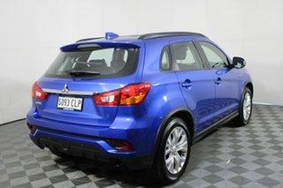2018 Mitsubishi ASX XC MY19 ES 2WD ADAS Blue 1 Speed Constant Variable Wagon.