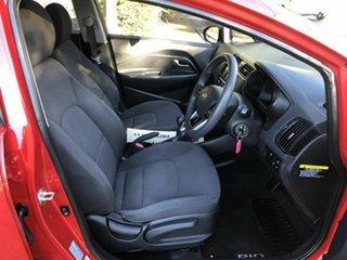 2011 Kia Rio UB MY12 S Red 6 Speed Manual Hatchback
