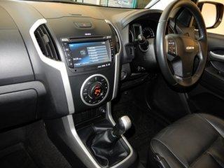 2015 Isuzu D-MAX TF MY15 LS-Terrain HI-Ride (4x4) White 5 Speed Manual Crew Cab Utility