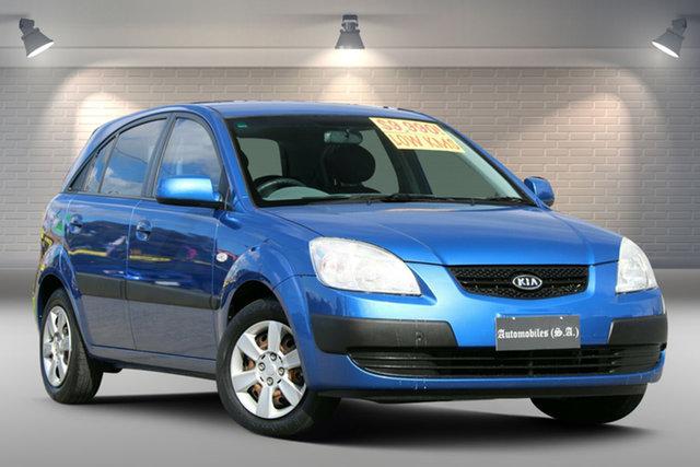 Used Kia Rio JB MY07 LX Gepps Cross, 2007 Kia Rio JB MY07 LX Blue 4 Speed Automatic Hatchback
