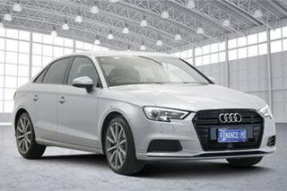 2019 Audi A3 8V MY19 35 TFSI S Tronic Silver 7 Speed Sports Automatic Dual Clutch Sedan.