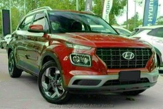 2021 Hyundai Venue QX.V3 MY21 Active Fiery Red 6 Speed Automatic Wagon