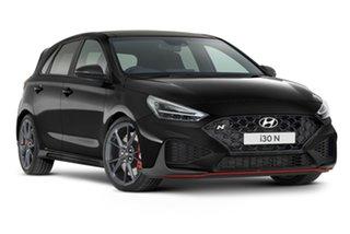 2021 Hyundai i30 Pde.v4 MY22 N D-CT Premium Phantom Black 8 Speed Sports Automatic Dual Clutch