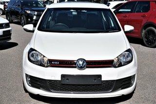 2012 Volkswagen Golf VI MY12.5 GTI DSG Candy White 6 Speed Sports Automatic Dual Clutch Hatchback.