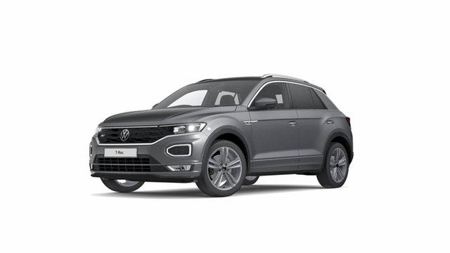 New Volkswagen T-ROC A1 140TSI Sport Hamilton, 2021 Volkswagen T-ROC A1 140TSI Sport Indium Grey 7 Speed Semi Auto SUV