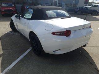 2021 Mazda MX-5 ND SKYACTIV-MT Snowflake White Pearl 6 Speed Manual Roadster