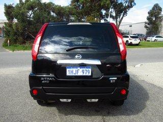 2012 Nissan X-Trail T31 MY11 ST (4x4) Black 6 Speed CVT Auto Sequential Wagon