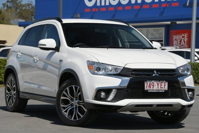 Used Mitsubishi ASX XC MY18 LS 2WD Aspley, 2017 Mitsubishi ASX XC MY18 LS 2WD White 1 Speed Constant Variable Wagon