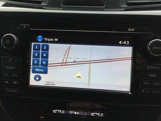 2015 Nissan Navara NP300 D23 ST-X (4x4) White 6 Speed Manual Dual Cab Utility
