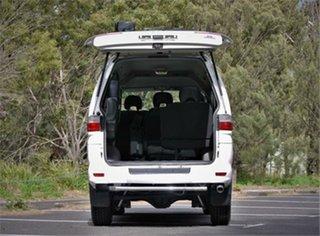 2005 Mitsubishi Delica PD6W Spacegear White 4 Speed Automatic Van Wagon