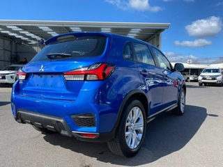 2019 Mitsubishi ASX XD MY20 ES 2WD Blue 1 Speed Constant Variable Wagon.