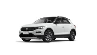 2021 Volkswagen T-ROC A1 110TSI Style Pure White 8 Speed Automatic SUV.