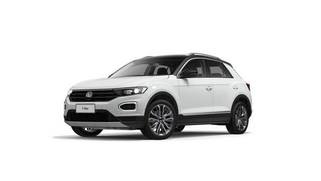 New Volkswagen T-ROC A1 110TSI Style Hamilton, 2021 Volkswagen T-ROC A1 110TSI Style Pure White 8 Speed Automatic SUV