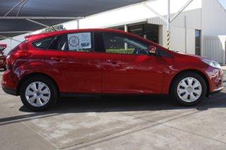 2013 Ford Focus LW MkII Ambiente Red 5 Speed Manual Hatchback.