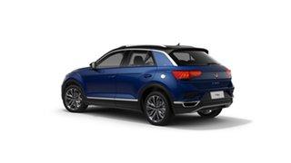 2021 Volkswagen T-ROC A1 110TSI Style Ravenna Blue 8 Speed Automatic SUV.