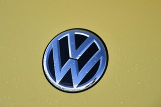 2015 Volkswagen Beetle 1L MY15 Coupe DSG Yellow 7 Speed Sports Automatic Dual Clutch Liftback