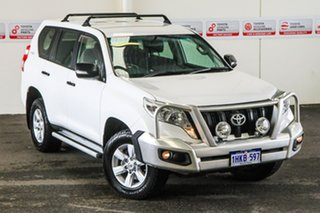 2016 Toyota Landcruiser Prado GDJ150R MY16 GX (4x4) Glacier White 6 Speed Automatic Wagon.