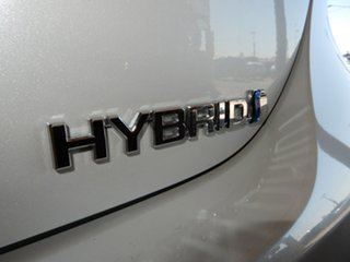 2021 Toyota Camry Axvh70R SX Hybrid White Continuous Variable Sedan