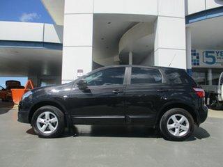 2012 Nissan Dualis J10 Series II ST (4x2) Black 6 Speed CVT Auto Sequential Wagon.