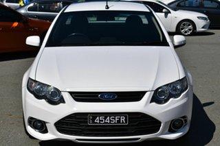 2012 Ford Falcon FG MK2 XR6T White 6 Speed Manual Utility.