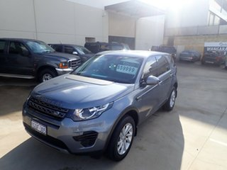 2018 Land Rover Discovery Sport L550 MY18 TD4 (132kW) SE 5 Seat Byron Blue 9 Speed Automatic Wagon