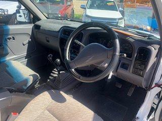 1999 Nissan Navara D22 DX (4x4) White 5 Speed Manual 4x4 Dual Cab Pick-up