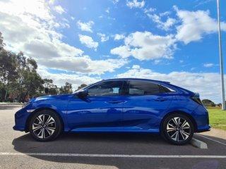2018 Honda Civic 10th Gen MY18 VTi-L Blue 1 Speed Constant Variable Hatchback