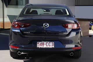 2021 Mazda 3 BP2S7A G20 SKYACTIV-Drive Evolve Deep Crystal Blue 6 Speed Sports Automatic Sedan