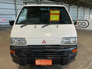 2005 Mitsubishi Express SJ M05 SWB White 5 Speed Manual Van.