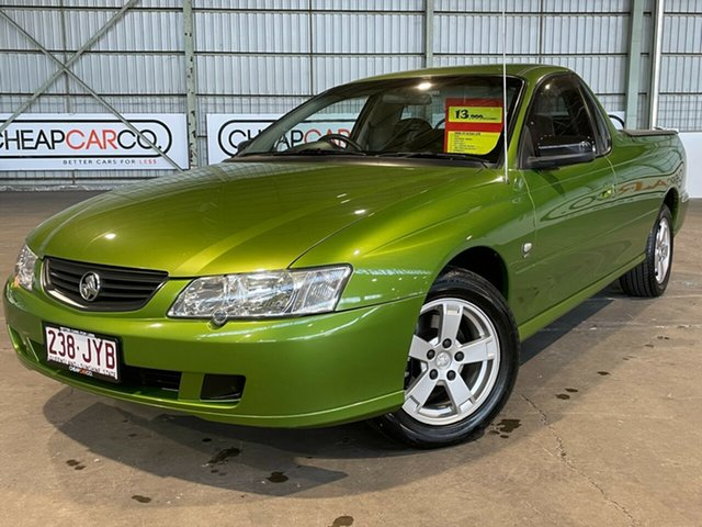 Used Holden Ute VY S Rocklea, 2002 Holden Ute VY S Green 4 Speed Automatic Utility