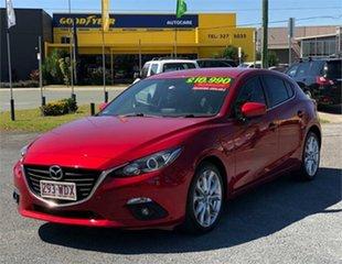 2015 Mazda 3 BM5438 SP25 Red 6 Speed Sports Automatic Hatchback.