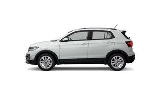 2021 Volkswagen T-Cross C1 85TSI Style Pure White 7 Speed Semi Auto SUV.