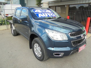 2014 Holden Colorado RG MY14 LT Crew Cab Blue 6 Speed Sports Automatic Utility
