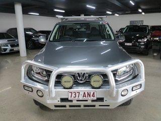 2014 Volkswagen Amarok 2H MY14 TDI400 4Mot Highline Grey 6 Speed Manual Utility.