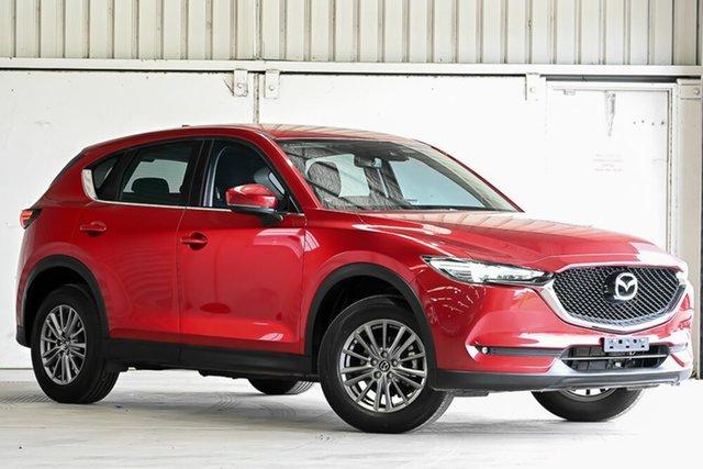Used Mazda CX-5 KF4WLA Maxx SKYACTIV-Drive i-ACTIV AWD Sport Laverton North, 2017 Mazda CX-5 KF4WLA Maxx SKYACTIV-Drive i-ACTIV AWD Sport Red 6 Speed Sports Automatic Wagon