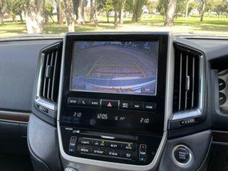 2017 Toyota Landcruiser VDJ200R VX Silver Pearl 6 Speed Sports Automatic Wagon