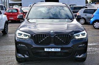 2020 BMW X3 G01 xDrive30i Steptronic M Sport Black 8 Speed Sports Automatic Wagon.