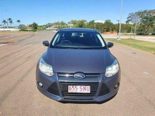 2012 Ford Focus LW Trend Midnight Black 5 Speed Manual Hatchback.