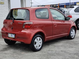 2002 Toyota Echo NCP10R Red 4 Speed Automatic Hatchback.