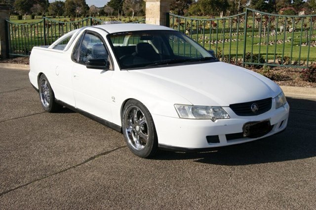 Used Holden Commodore VY II S Blair Athol, 2004 Holden Commodore VY II S White 4 Speed Automatic Utility