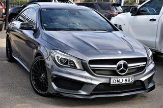 2014 Mercedes-Benz CLA-Class C117 CLA45 AMG SPEEDSHIFT DCT 4MATIC Grey 7 Speed.