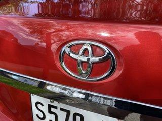 2009 Toyota Yaris NCP93R MY09 YRS Red 5 Speed Manual Sedan