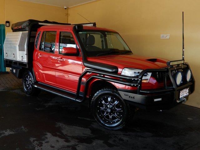 Used Mahindra Pik-Up S10 MY18 4WD Toowoomba, 2017 Mahindra Pik-Up S10 MY18 4WD Red 6 Speed Manual Dual Cab Utility