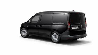 2021 Volkswagen Caddy 5 Maxi Deep Black Pearl Effect 7 Speed Semi Auto Van.