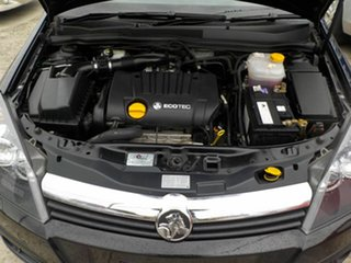 2007 Holden Astra AH MY07 CDX Black 4 Speed Automatic Coupe