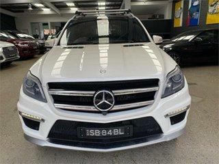 2013 Mercedes-Benz GL-Class X166 GL63 AMG White Sports Automatic Dual Clutch Wagon.