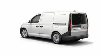 2021 Volkswagen Caddy 5 Maxi Candy White 7 Speed Semi Auto Van.